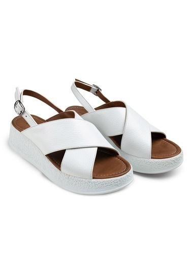 Deery Sandalet Beyaz